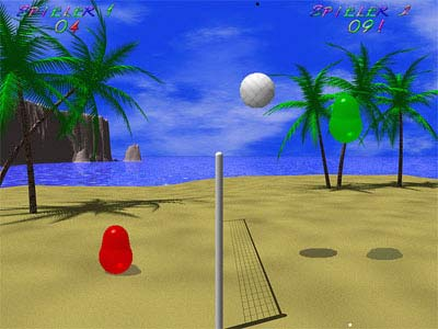 Screenshot Blobby Volley