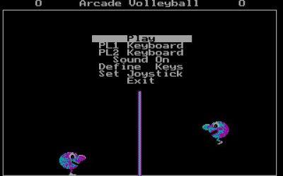 Screenshot Arcade Volleyball